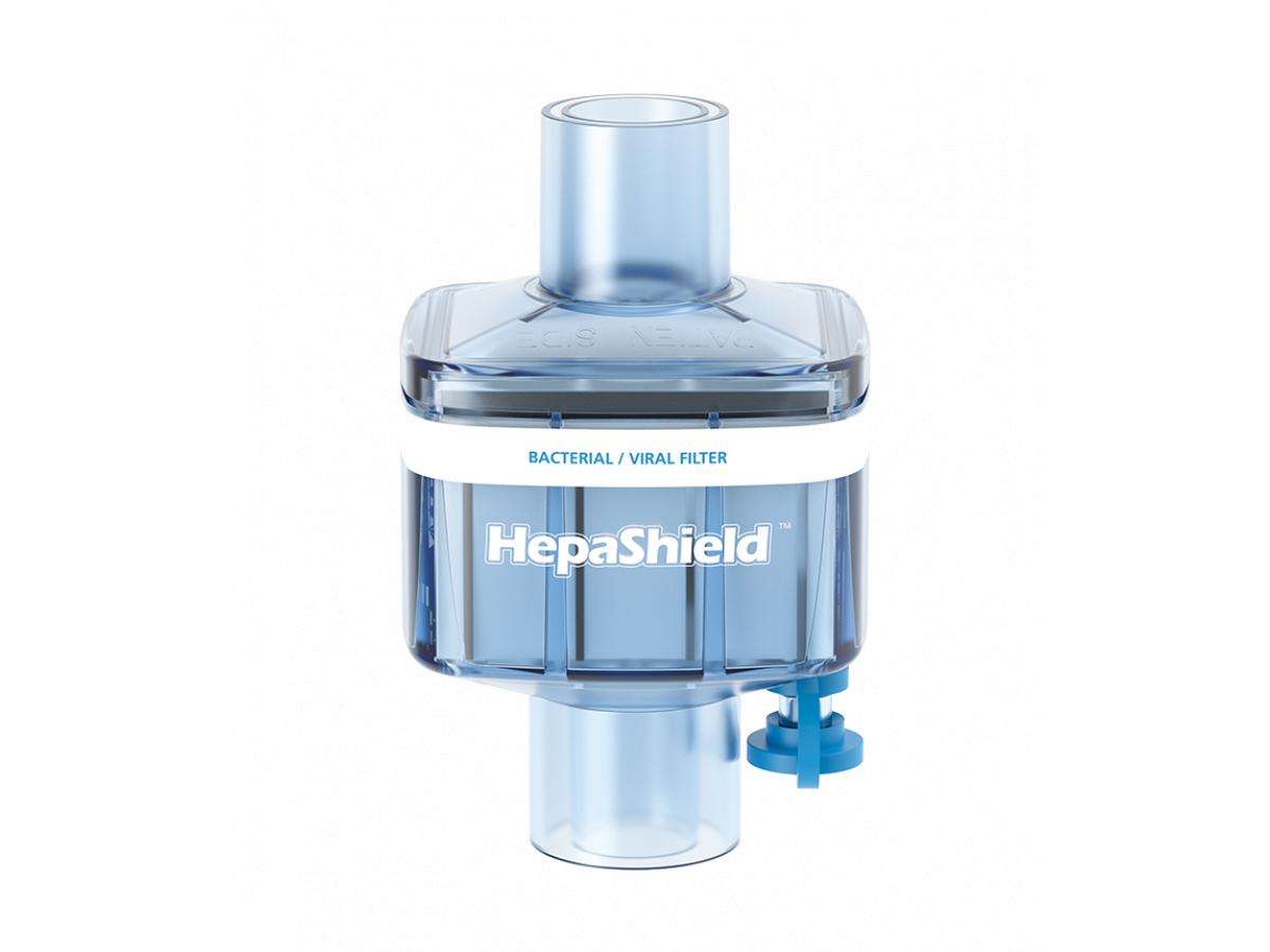 Вірусобактеріальні дихальні фільтри HepaShield™