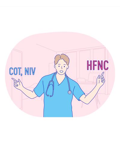 Доцільне використання високопотокового назального кисню у госпіталізованих пацієнтів для початкової або постекстубаційної терапії гострої дихальної недостатності